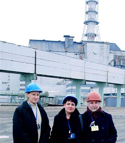 Sr-90 Group at Chernobyl NPP Site